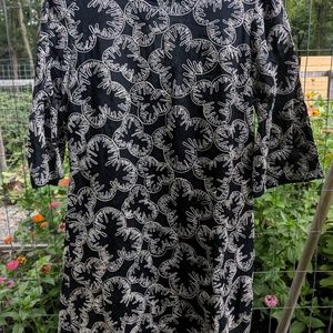 French Connection embroidered dress.